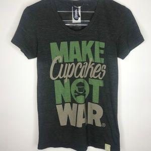 Johnny Cupcakes Make Cupcakes Not War Tee